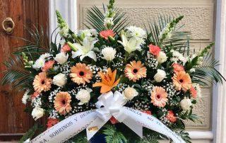 Flores para funerales 1