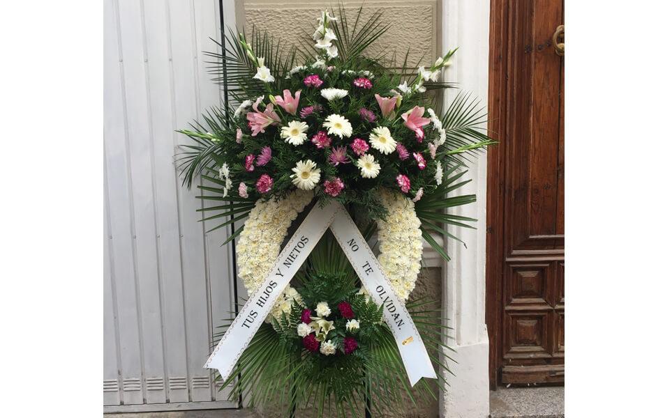 Flores para funerales Funeraria Romero