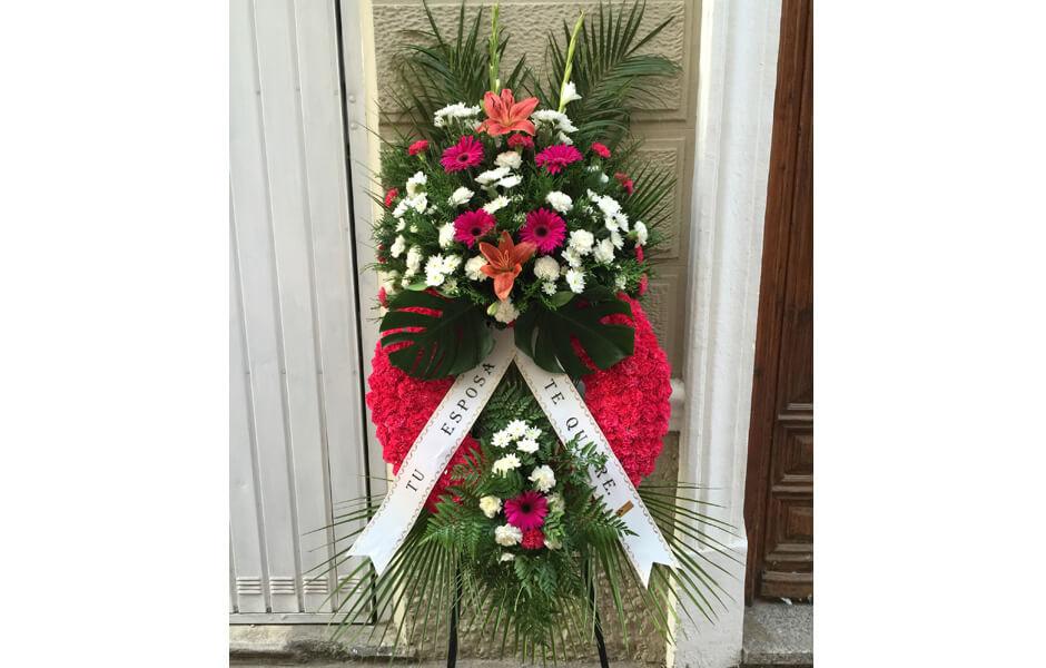 Servicio funerarios de flores para funerales