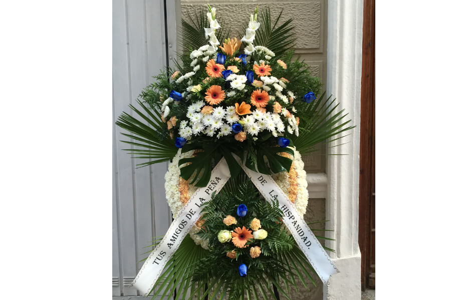 Centro de Flores para funerales