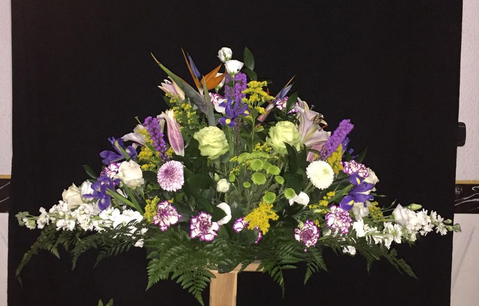 Flores para entierros en granada