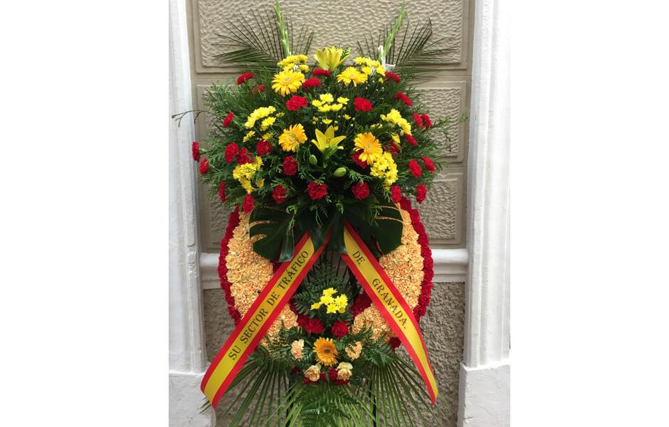 Coronas para funerales pronvincia granada