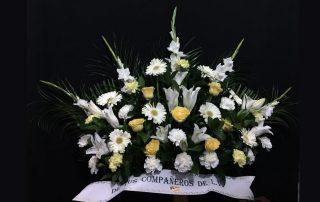 Flores para funerales 8