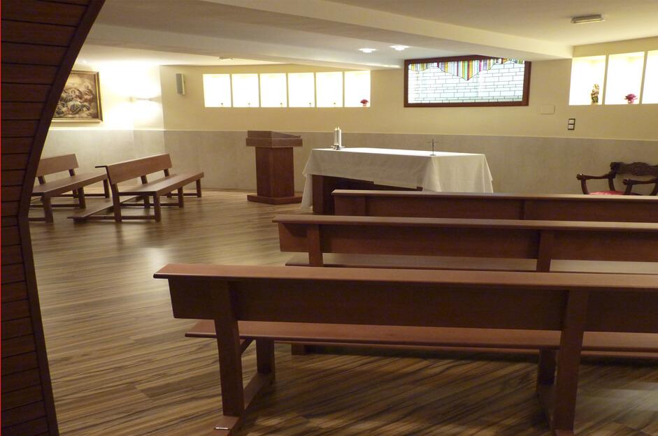 capillas en tanatorios de la Funeraria Romero