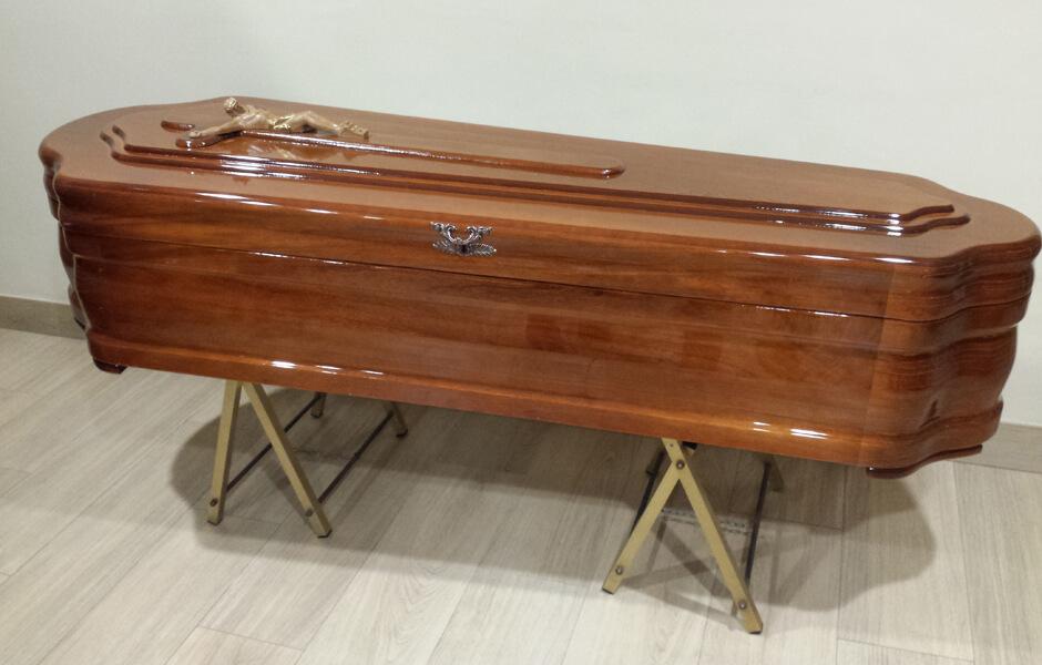 Ataúd o féretro Mediterráneo egipcia marron 3 endiduras - Funeraria Romero