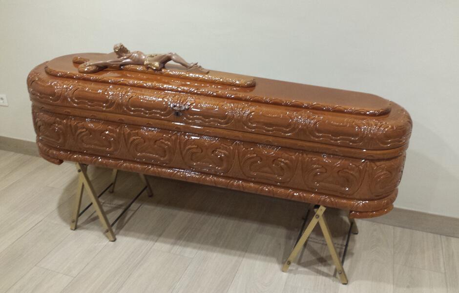 Ataúd o féretro Mediterráneo Innova - Funeraria Romero
