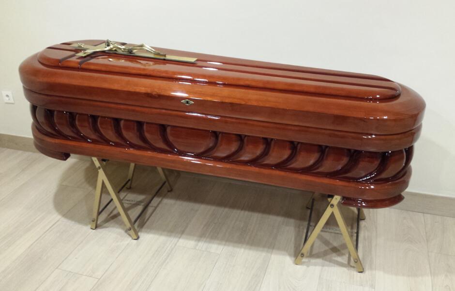 Ataúd o féretro Mediterráneo Innova MOD 79-B 2900 - Funeraria Romero