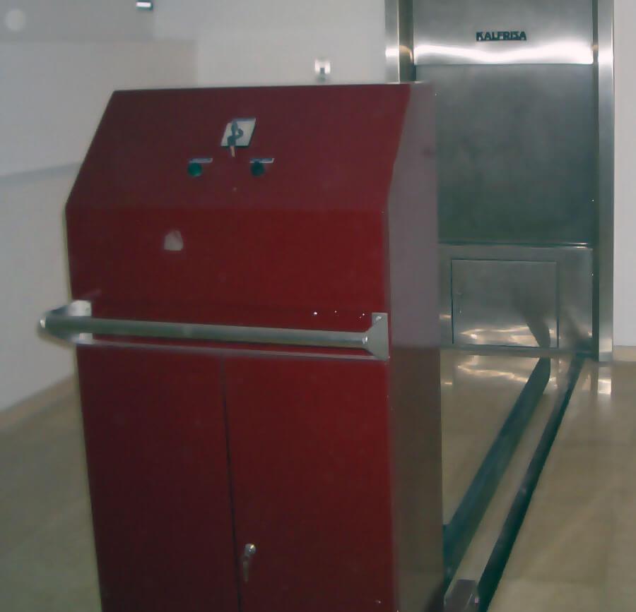 horno para cremación funeraria romero