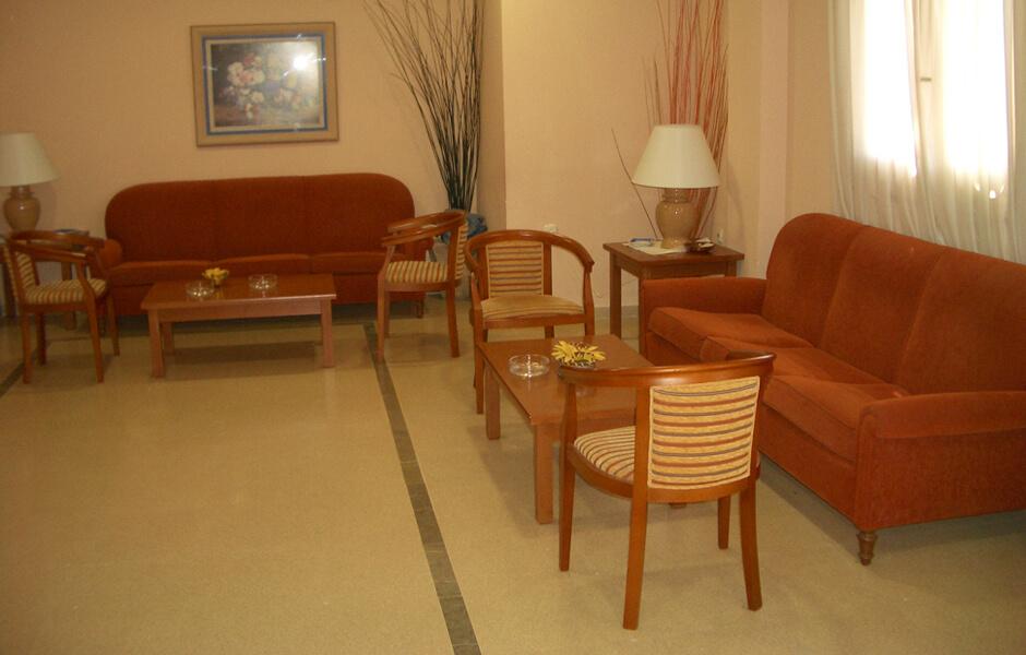 Interior instalaciones tanatorio de Quejar