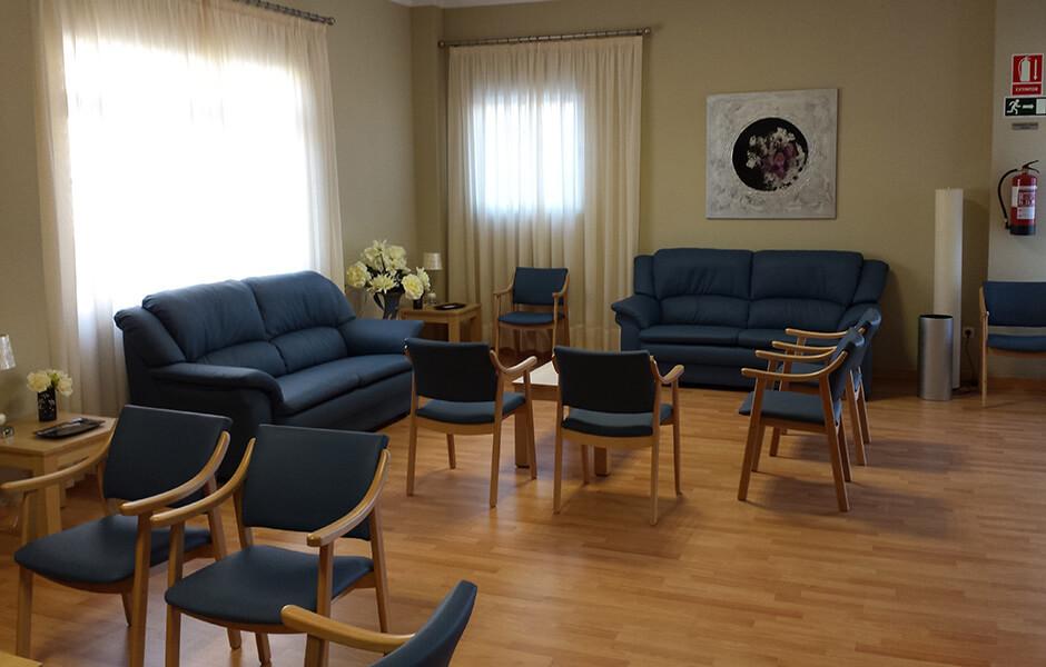 interior sala de velatorio tanatorio puerto lope