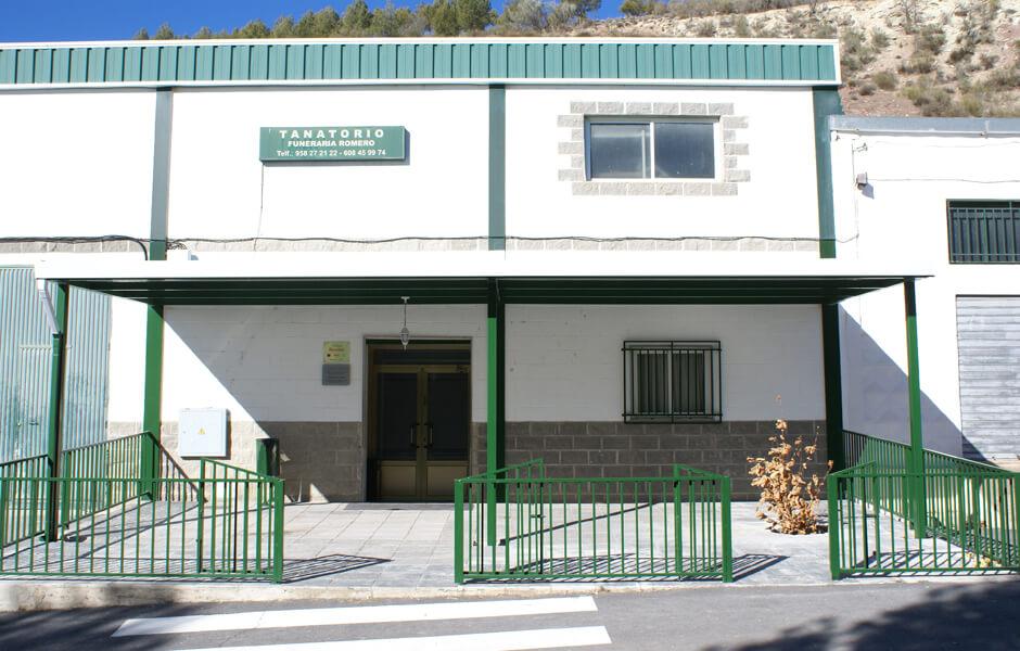 Tanatorio Funeraria Romero sede Montejicar